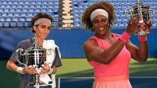 Federer in Elite Eight -- Halloween with Serena & Rafa