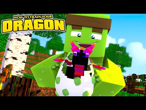 HOW TO TRAIN YOUR DRAGON #1  w LittleLizard & ScubaSteve