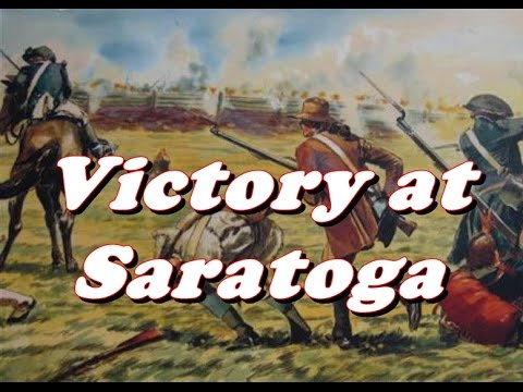 Image result for the battle of saratoga