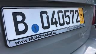 Auta z Niemiec #13/05/2019: Skoda Octavia RS /Berlin/