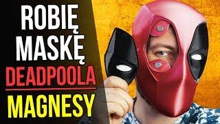 Robię maskę Deadpoola - Magnetyczne Oczy   Część 2