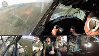 Captain Vova WRESTLING down his Antonov 22 for a PERFECT BUTTER LANDING in Kiev-Gostomel! [AirClips]