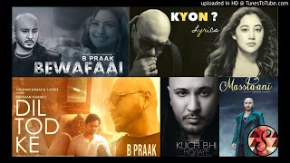 Latest 5 B Praak songs list/2020/ B Praak💕♥️/Bollywood songs🥰