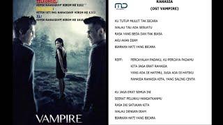 Video IKA VUJE - RAHASIA (OST VAMPIRE) Video Lyric download MP3, 3GP, MP4, WEBM, AVI, FLV Juli 2018