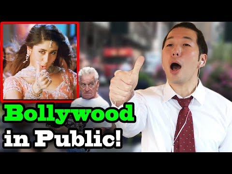 BOLLYWOOD SONGS IN PUBLIC!! (Bole Chudiyan, Khalibali)