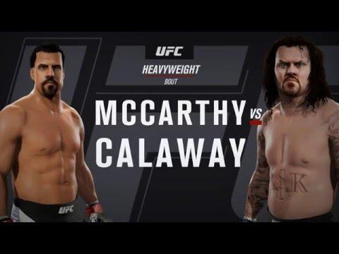UFC 2: CAF: Mark 'The Undertaker' Calaway vs 'Big' John McCarthy