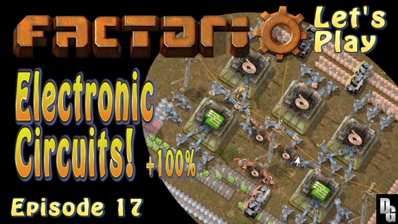 Electronic Circuit Layout Factorio