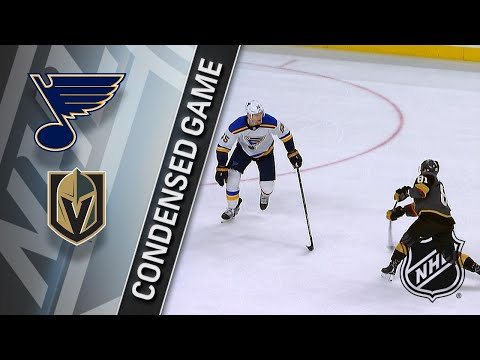 03/30/18 Condensed Game: Blues @ Golden Knights