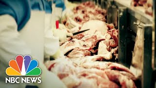 Inside Meat Processing Plant Linked To Nearly 900 Coronavirus Cases   NBC Nightly News