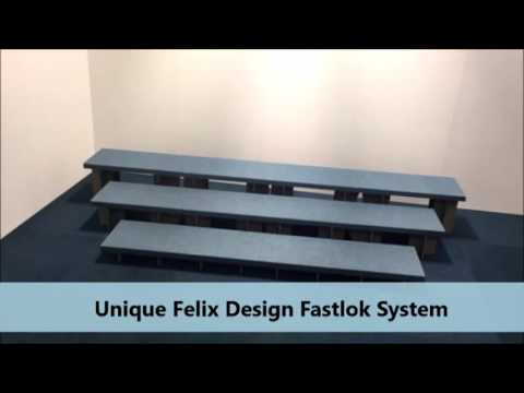 Felix Design Portable Choir Riser