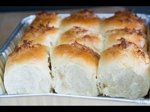 Coconut Bread Rolls Recipe   How To Make Colombian Coconut Bread   SyS