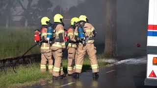 STOMPETOREN: vrachtwagen brand