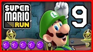 SUPER MARIO RUN Part 9: Luigi schnappt sich die lila Münzen von World 3 & 4