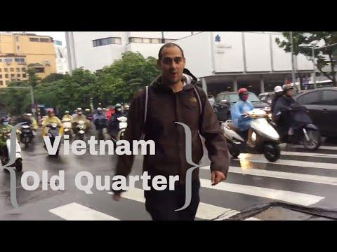 RAINY DAYS IN HANOI OLD QUARTER, VIETNAM
