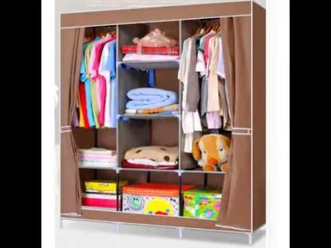 Tủ vải đựng quần áo, tủ vải đựng giày dép giá tốt nhất – Tủ vải sinh viên