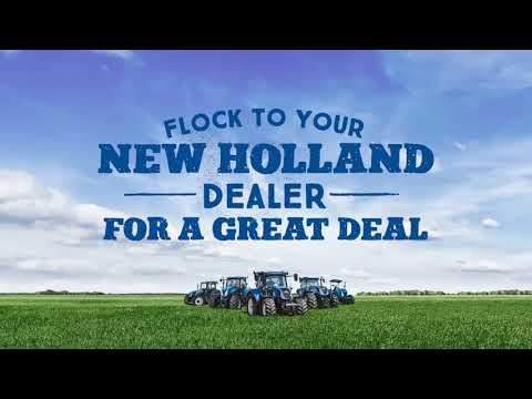 Flock to Your New Holland dealer