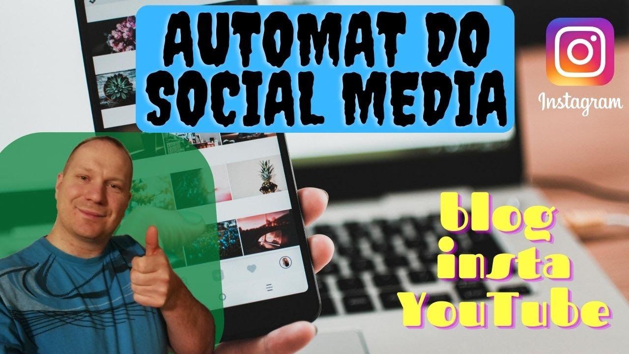Promowanie bloga instagram w automacie