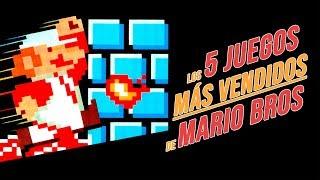 Los 5 juegos más vendidos de Mario Bros.