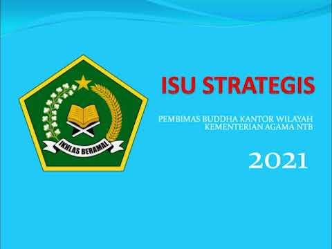 Isu Strategis Bimas Buddha Kantor Wilayah Kementerian Agama NTB