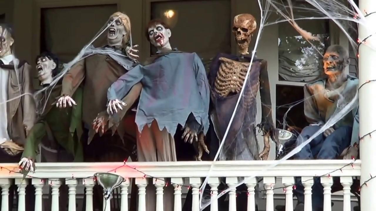 halloween home decorations 2016 new york city usa