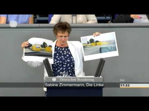 Sabine Zimmermann, DIE LINKE: Poststreik unterstützen - Regierung muss Stellung beziehen