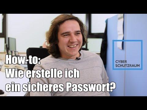 Wie erstelle ich ein sicheres Passwort? - How-to