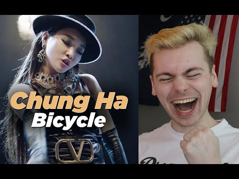GET OUT THE WAY (CHUNG HA 청하 'Bicycle' MV Reaction)