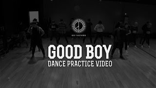 GD X TAEYANG - \'GOOD BOY\' DANCE PRACTICE