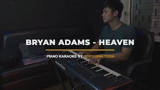 Bryan Adams - Heaven (Piano Karaoke with Lyrics)