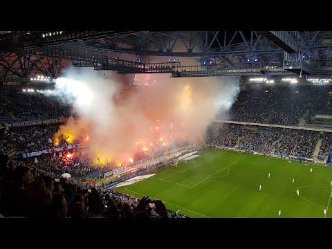 17#105 | oprawa i pyro na meczu Lech Poznań - Legia Warszawa (01.10.17)