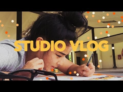 STUDIO VLOG (TRAVELLING STUDIO, XMAS CAMPAIGN, Q+A)