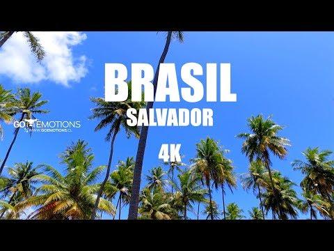 BRASIL / SALVADOR DE BAHÍA  EN 4K / 2016