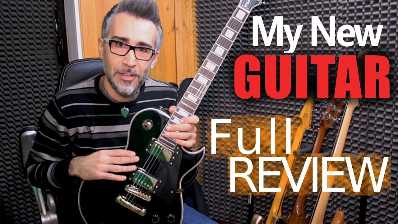 My new Guitar HARLEY BENTON SC 500 BK - FULL REVIEW