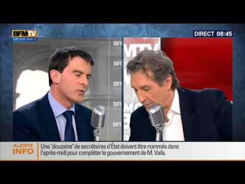 Bourdin Direct: Manuel Valls - 09/04