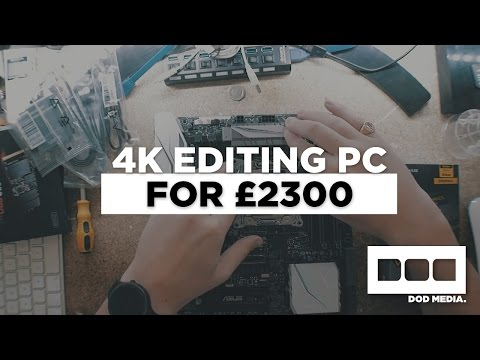 My £2300 4K Editing PC Build for Premiere Pro and After Effects