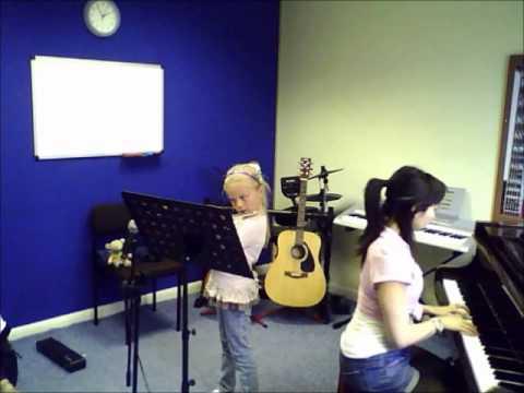 Flute  Liza The Roamin Gnomes   A to G Music School  Sutton  Teacher  Lessons