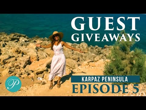 Cyprus Paradise Guest Giveaway Episode 5, Karpaz, North Cyprus Holidays