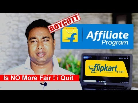 Flipkart Affiliate Program is NO MORE FAIR ! introduced Capping Limit on Earnings