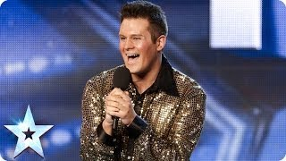 Richard Bayton sings I Am What I Am | Britain's Got Talent 2014