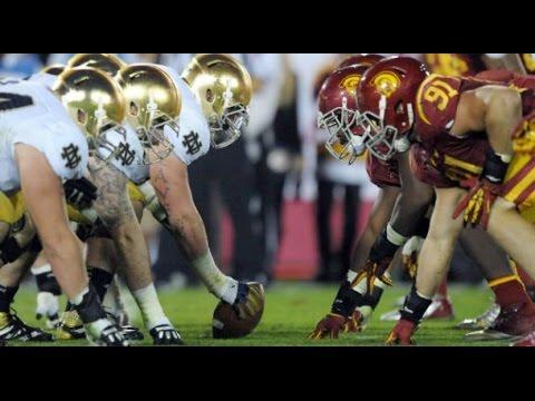 USC vs Notre Dame Full Game 17/10/2015 NCAA Football Week 7