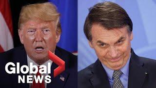 #UNGA74: Trump, Bolsonaro address UN General Assembly