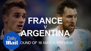 France v Argentina: World Cup last 16 preview