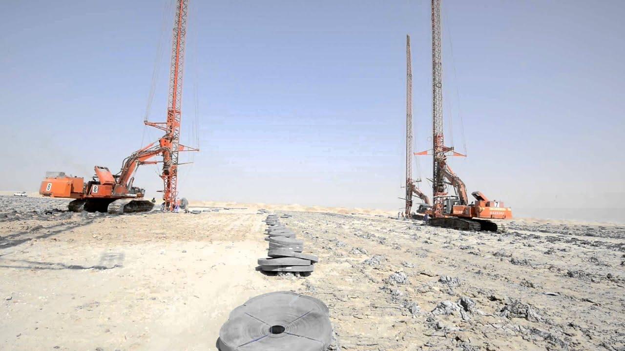 June 2014 pvd soil improvement works subiyah youtube for Soil improvement