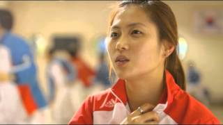 adidas all 2012 Olympic Gold Medalist Interview - Kim Jiyeon (Fencing)