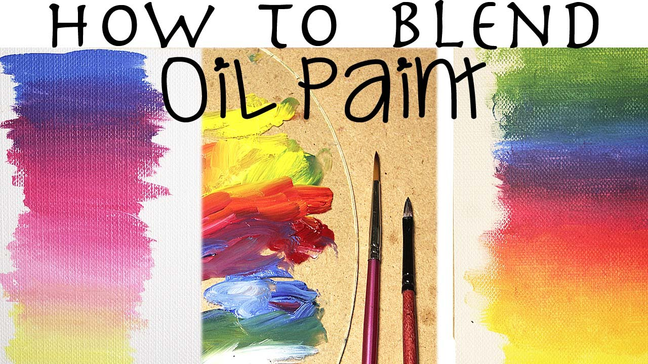 Oil painting for beginners how to blend oil paint youtube for How to watercolor for beginners