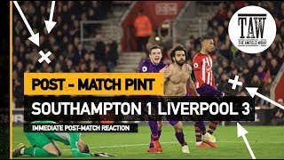 Baixar Southampton 1 Liverpool 3 | Post Match Pint