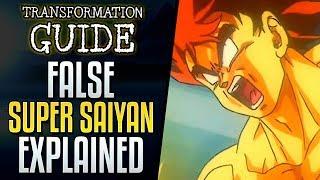 False Super Saiyan Explained