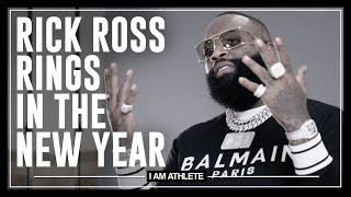 Rick Ross Rings In The New Year | I AM ATHLETE (S2E16)