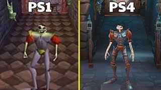 MediEvil Remake PS4 VS Original PS1 Graphics Comparison