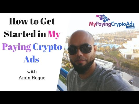 MY PAYING CRYPTO ADS TUTORIAL│Getting Started with MPCA Revshare│Amin